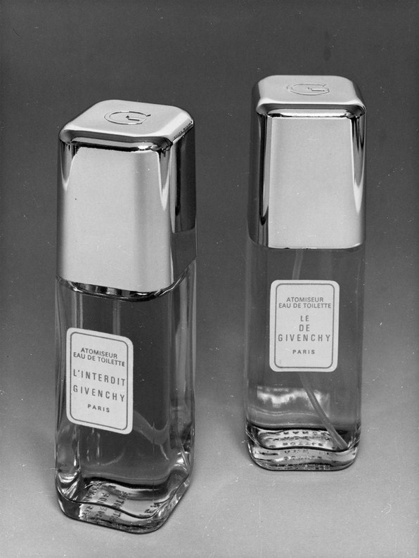 Givenchy's first fragrances 1957