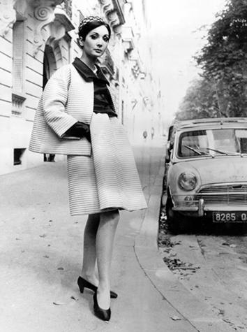 Givenchy ensemble 1966