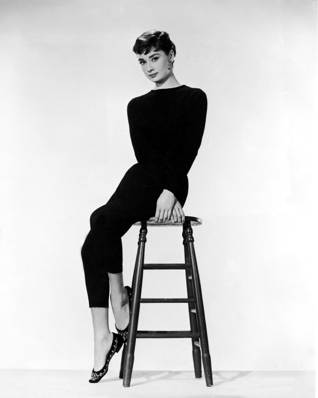 "Audrey Hepburn in the film ""Sabrina"""