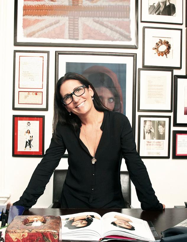 Bobbi in her office.
