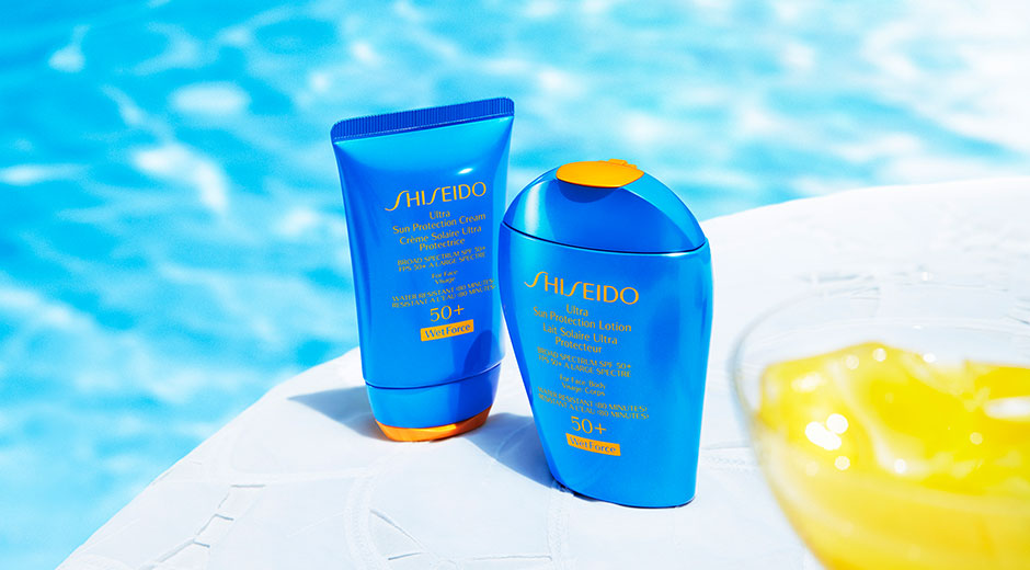 shiseido WetForce sunscreen