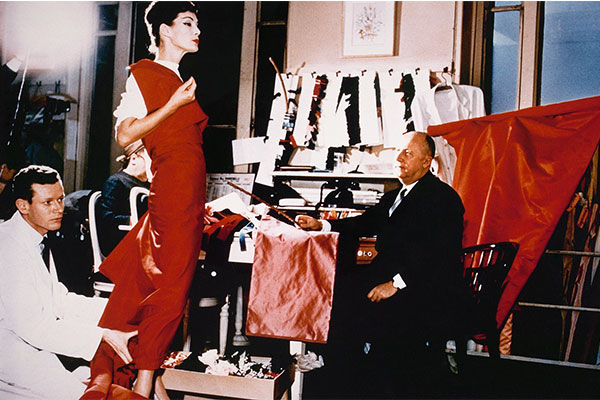 Christian dior in his salon