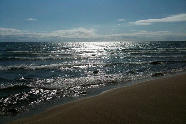 beach georgian bay