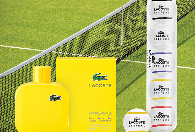 lacoste parfums tennis ball gwp congrats to michelle l. Black Bedroom Furniture Sets. Home Design Ideas