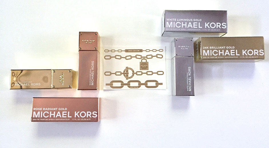 michael kors gold fragrance collection