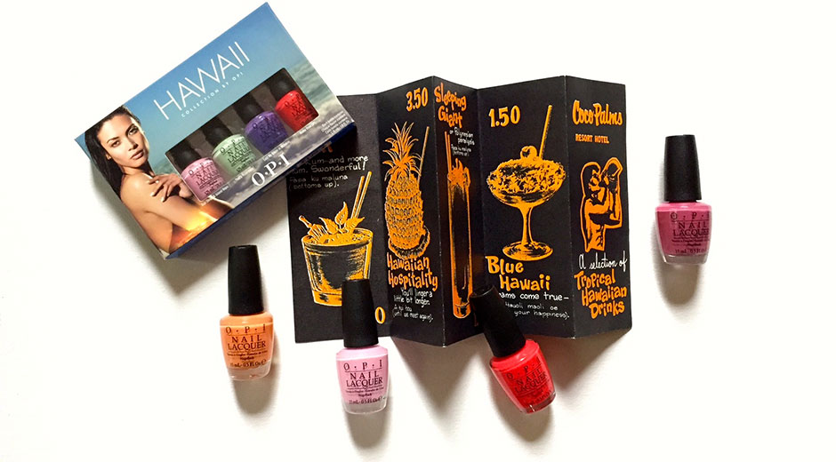 opi hawaiian collection