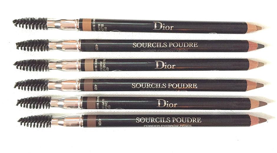dior powder eyebrow pencils