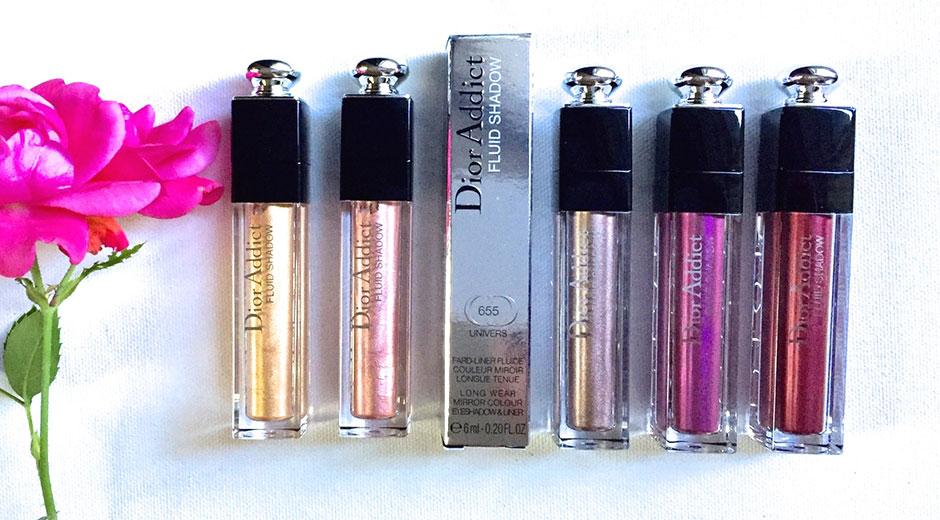 Dior addict fluid shadows