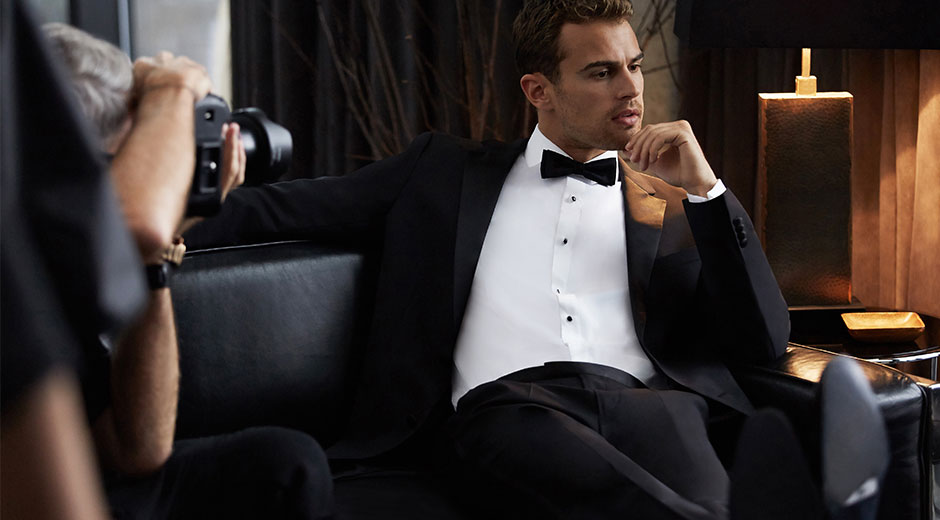 theo james for Boss