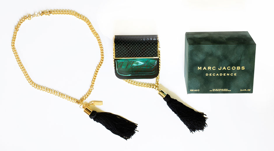 marc jacobs decadence signed bottle