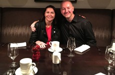 Clarins' Marie-Helen Lair & Dave Lackie