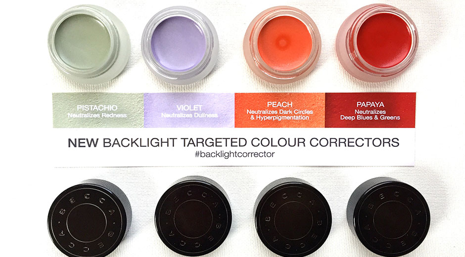 becca backlight colour correctors