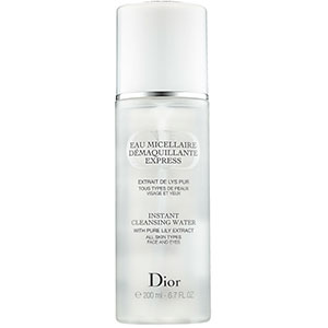 dior cleansing water
