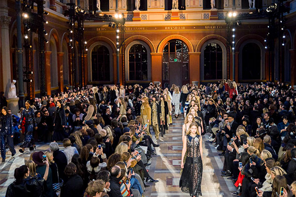 sonia rykiel fashion show fall 2016