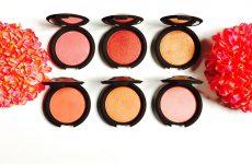 becca luminous blush collection