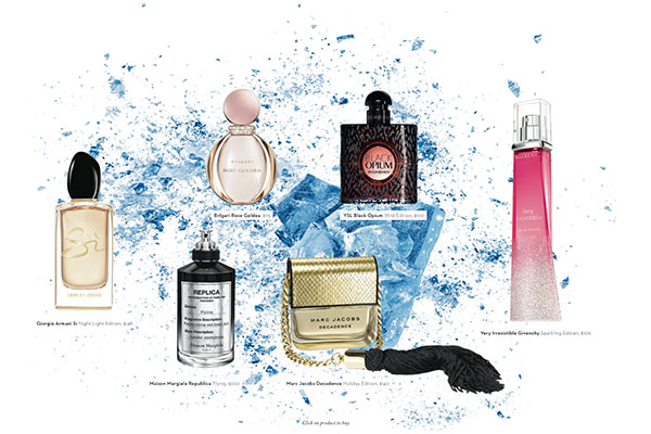 holiday fragrance bottles 2016