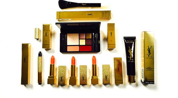 YSL Sparkle Clash holiday 2016 collection