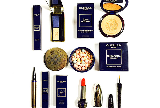 Guerlain x Natalia Vodianova holiday 2016 makeup collection