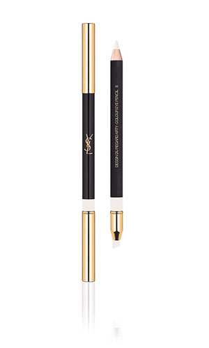 ysl eye pencil in white