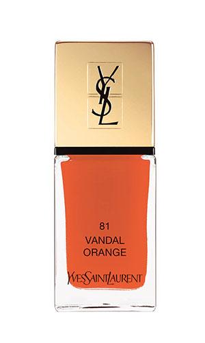 ysl nail lacquer in orange