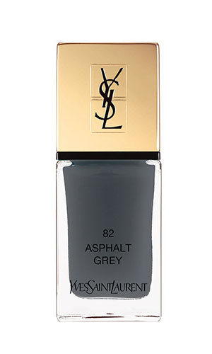 ysl nail lacquer in grey