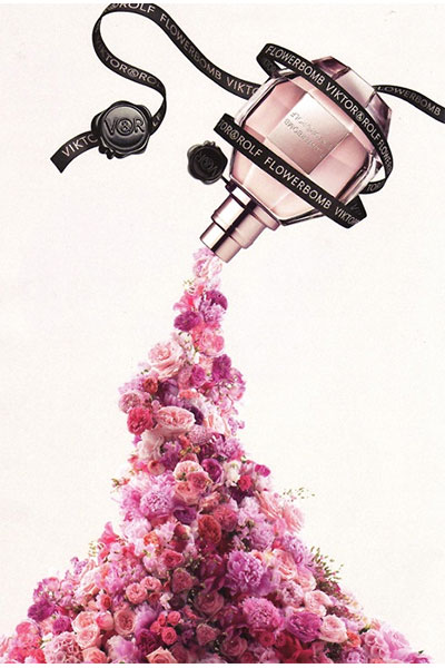 viktor & rolf flowerbomb ad