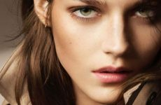 burberry antique nudes collections model shot