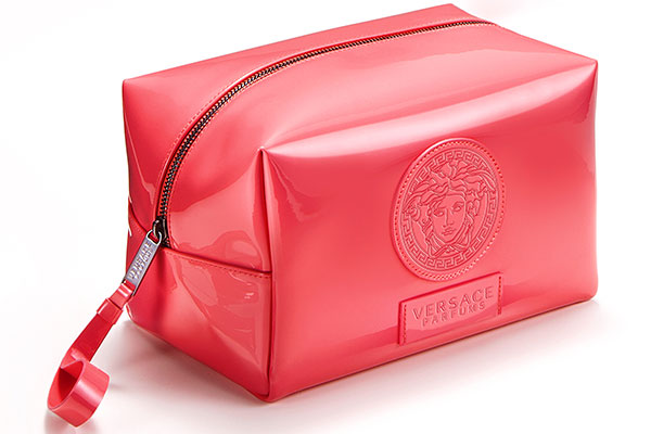Versace cosmetic bag gift with purchase