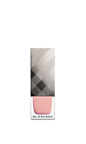 burberry nail polish in tea rose