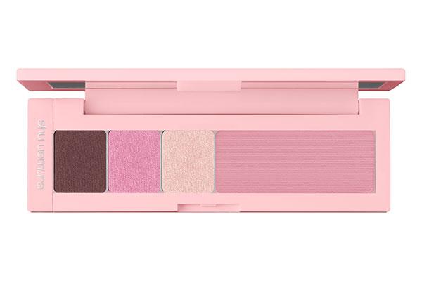 shu uemura eye & cheek palette in pink sundae