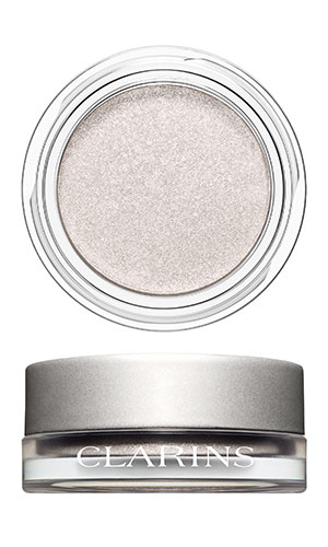 clarins ombres iridescentes in silver white