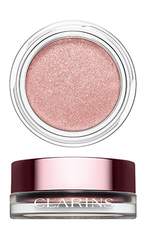 clarins ombres iridescentes in silver rose