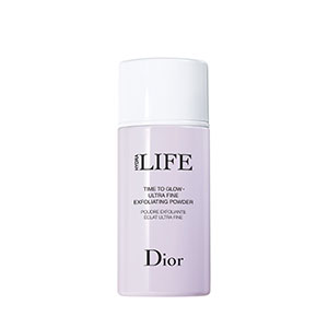dior hydraLIFE Time to glow ultra fine exfoliating powder