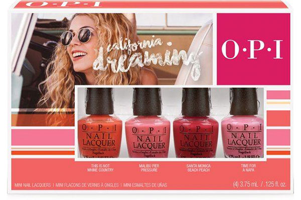 opi california dreaming mini set