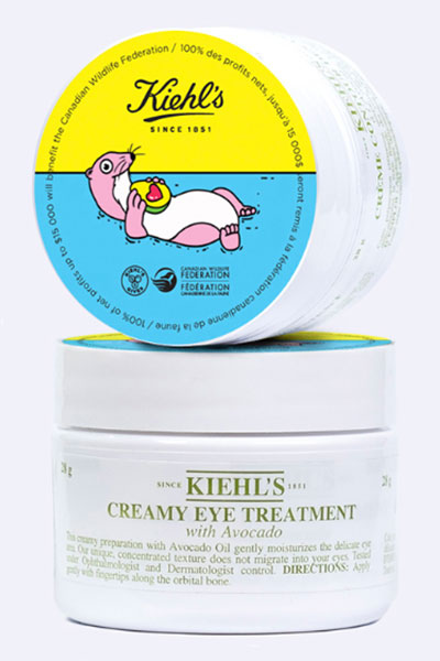 kiehl's creamy eye treatment with avocado for sea otter preservation