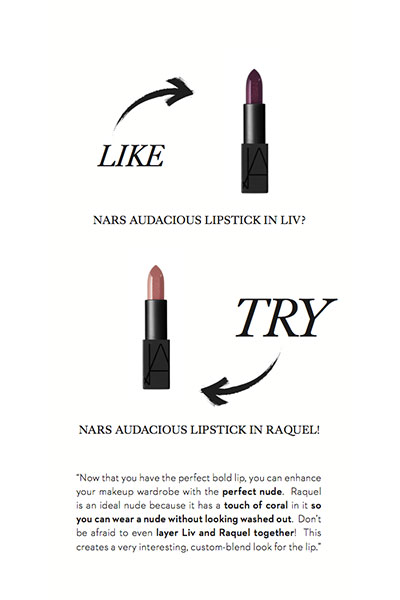like that try this nars lipsticks