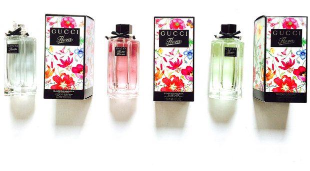 gucci flora fragrances
