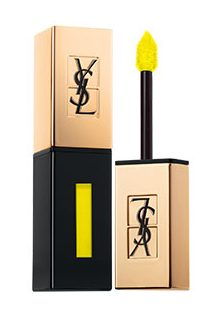ysl vernis a levres glossy stain in yellow