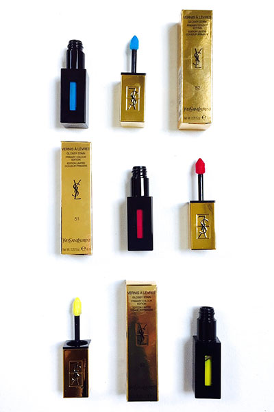 ysl vernis a levres color amplifiers