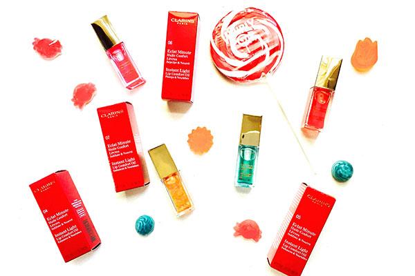 Clarins lip comfort lip oils