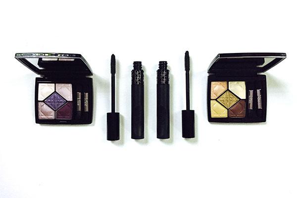 Dior eye palettes and pump'n'volume mascara