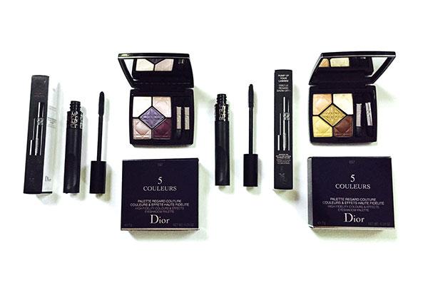 dior eye palettes & pump'n'volume mascara