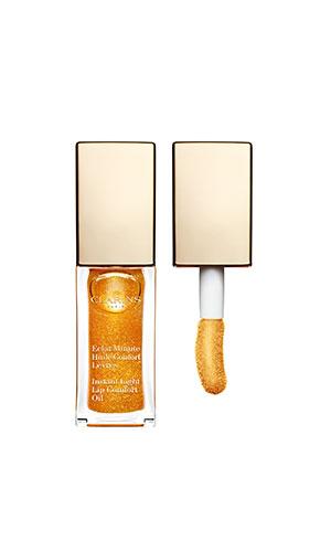 clarins lip comfort oil in honey glam