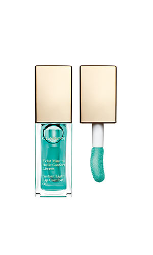 clarins lip comfort oil in mint