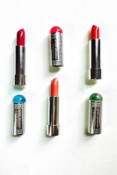 clinique + jonathan adler lip pop & primer