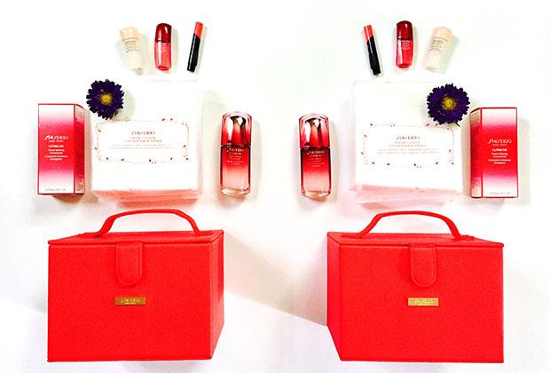 shiseido #sharebeauty set