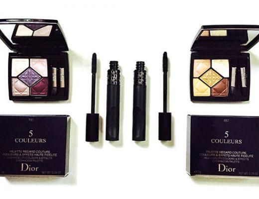 Dior pump'n'volume mascara & 5-couleurs eye palettes