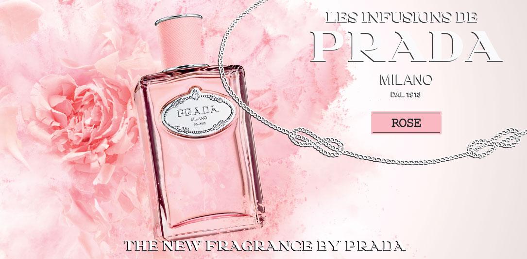 les infusions de Prada rose