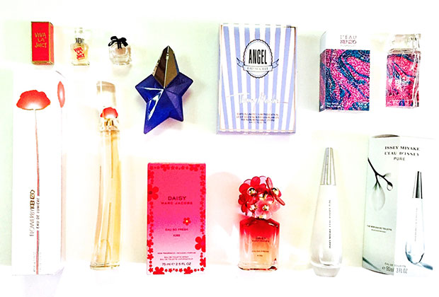 summer fragrance sampler