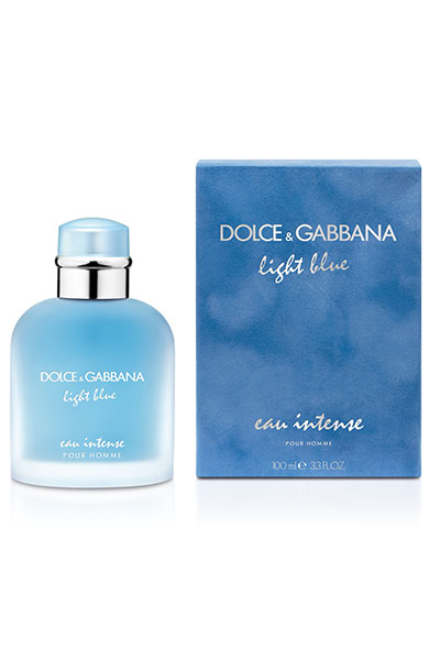dolce and gabbana light blue eau intense for him
